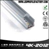 canal del montaje de la luz de tira de 4K-2012 LED con la cubierta del difusor