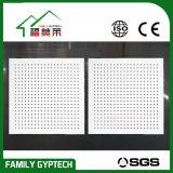 Perforierte akustische Glaswolle-Decken-Fliese