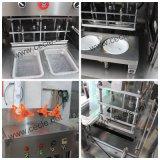 Wenzhou Fiambrera pequeña máquina de sellado, el tazón de la máquina de sellado con el lavado del Gas
