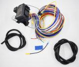 12 alambres universales de Rod XL de la calle de Rod caliente del coche del músculo del harness del alambre del circuito