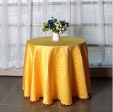 Mantel de lino redondo barato para la boda