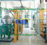 Planta de refinaria vegetal do cobre do equipamento da refinaria de petróleo