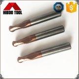 Preiswerte Hartmetall-Kugel-Wekzeugspritzen-Enden-Tausendstel mit Copper-Colored für Stahl