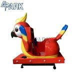 Com moedas Kiddie máquinas de Percurso Parrot Carro de Giro