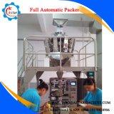 Una macchina imballatrice automatica piena delle 10 delle teste di combinazione del pesatore patatine fritte