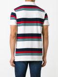 Люди белые и Multicolour Striped рубашка пола