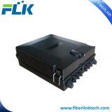 FTTH/Network 24 PLC van de Vezel van Kernen de Binnen/Openlucht Optische Doos van de Distributie van de Splitser