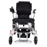 Cadeira de rodas de dobramento elétrica de alumínio de pouco peso