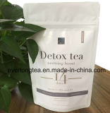 Tè di perdita di peso del Detox del tè verde (14 - programma di giorno)