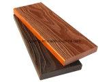 中国DIY太陽ライトWPC屋外の床タイル30*30cm