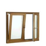 Inclinaison et tour en aluminium Rainproof fenêtre avec le verre clair