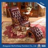 Chaise en cuir (Y318)