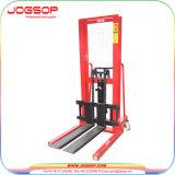 손 쌓아올리는 기계 또는 쌓아올리는 기계 기중기 Hydraulice 수동 쌓아올리는 기계
