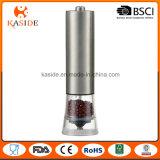 La batterie actionnent la rectifieuse de sel gemme avec l'acier inoxydable