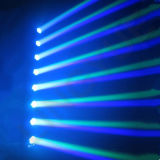 Barre principale mobile de la lumière DEL de disco du DJ d'étape de 8 yeux