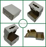 A caixa de empacotamento do punho plástico da caixa de cartão com punho projeta livre