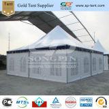 tende antivento di lusso della tenda foranea del Pagoda di inverno di 9X9m con la falda blu