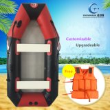 Barco de pesca inflable popular para el barco inflable modificado para requisitos particulares al aire libre