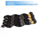 Armure péruvienne de cheveux humains de kératine (KBL-pH-BW)