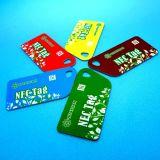 C 싼 관례 PVC NFC NTAG21X RFID 중요한 바지의 시계 주머니