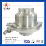 食品等級の衛生ステンレス鋼の溶接された小切手弁