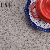 O granito cinzento da cor que olha o risco resiste a pedra de quartzo