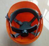 Casque de protection en plastique de sécurité pour la protection de la tête de la construction