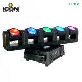 На заводе прямой продажи/цена 5X15W RGBW 4в1 пиксель луча Spot LED перемещение головки блока цилиндров для DJ/Группа/Клуб/TV Show/Disco оборудования