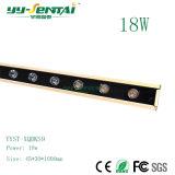 LEDの線形壁の洗濯機の照明LED線形ライト(YYST-XQDKS9-18W)