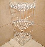 3개의 층 목욕탕 선반 또는 Eco-Friendly 유행 코너 샤워 Caddy