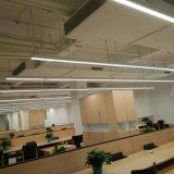 Techo suspendido de la luz de la oficina que cuelga luces lineares del LED