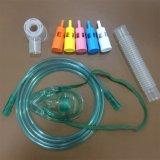 Medizinischer Bedarf Kurbelgehäuse-Belüftung Multi-Luftauslaß Sauerstoffmaske mit 5 variablen Sauerstoff-Konzentrationen