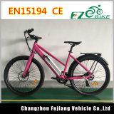 Bicicleta elétrica da cidade com Shimano Derailleur