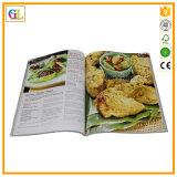 Papiereinband-Kochbuch-Druckservice (OEM-GL030)