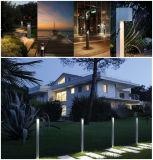 Luz decorativa ao ar livre do poste de amarração da luz do jardim da paisagem do diodo emissor de luz
