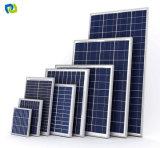 屋根の台紙は100ワットの太陽暖房のパネルを写し出す