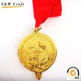 Unbelegte Sublimation-Abzuglinie-Medaillen im Gold-, Silber-und Bronzen-Ton