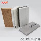 Superficie solida di pietra artificiale bianca di Corian per i controsoffitti della cucina