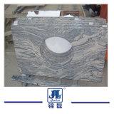L'onda di sabbia di pietra naturale della Cina Juparana con il colore rosa venato il granito per la grande pietra tombale dei controsoffitti delle mattonelle delle mattonelle di /Floor delle lastre/della cucina/stanza da bagno lastre per pavimentazione