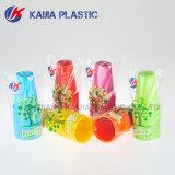 16oz neon-roze Plastic het Drinken Kop