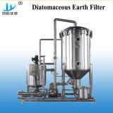 100L/H de Micro- van het bier Filter van de Diatomeeënaarde