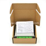 contenitore ottico di divisore del PLC Lgx della fibra 1X8 con Sc/APC Connector