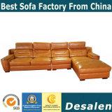 Hot vender el vestíbulo del hotel mobiliario sofá de cuero (A78)