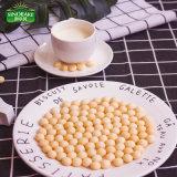 Biscuits chinois, mini biscuits de forme ronde avec l'oeuf et saveur de sirop de maltose