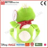 Personnaliser le jouet mou bourré de peluche de tortue de tortue pour des gosses/enfants de bébé