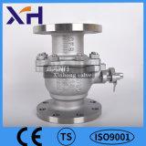 Alta calidad de acero inoxidable 304 de la válvula de bola con brida DN15