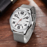 Japan Movement Stainless Steel Classical Mesh Band Men Watch 72745