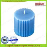 Feiertags-Dekoration-Gebrauch-Fertigkeit-Pfosten-Kerze gebildet durch Form