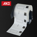 Wasserdichter Öl-Beweis Kratzer weg von kompatiblem Dk1209 Dk-1209 beschriftet 80g überzogenes Papier selbstklebende Aufkleber-Kennsätze
