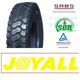 295/80r22.5 18pr Joyal Lbrandの放射状の鋼鉄トラックTBRの&Busのタイヤ